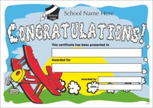 Congratulations Certificate - School Reward Certificates