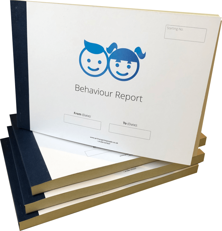 Customised Pupil Behaviour Form Books