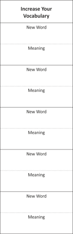 Increase Your Vocabulary BMKR03