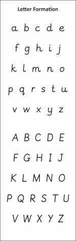 Letter Formation BMKR04