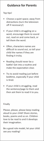 Guidance for Parents BMKR07