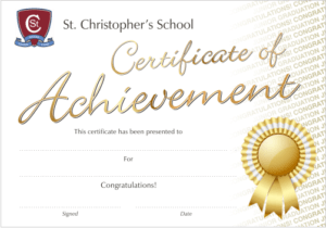 Custom Certificate