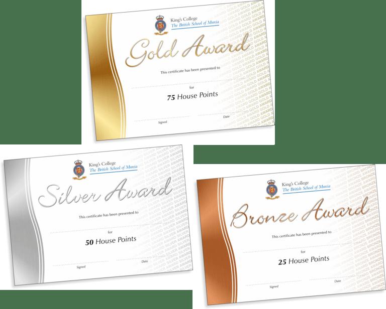 Certificates Personalisation Info