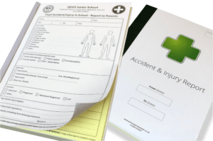 Accident & Injury Report Form Books
