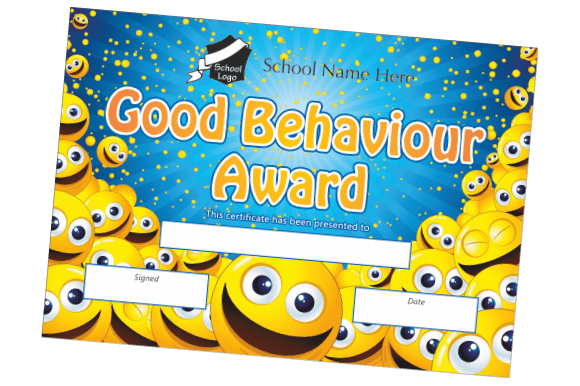 Reward Certificates - Tables Log Booklets - Educational printing for primary schools