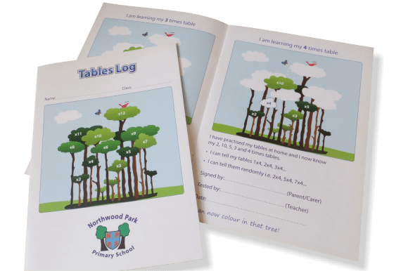 Tables Log Booklets - Tables Log Booklets - Educational printing for primary schools