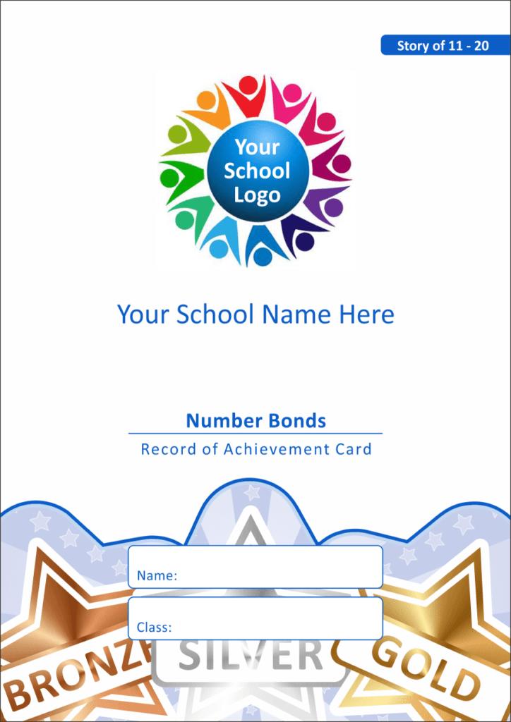Maths Reward Cards - Number Bonds 11 - 20
