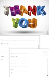 Thank You Letters Praise Postcard - Praise & Reward Postcards for Schools