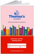 Custom School Reading Record Booklet Example R1