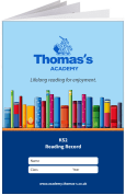 Custom School Reading Record Booklet Example R2