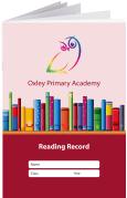 Custom School Reading Record Booklet Example R10