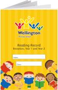 Custom School Reading Record Booklet Example R15