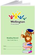 Custom School Reading Record Booklet Example R16
