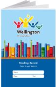 Custom School Reading Record Booklet Example R17
