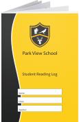 Custom School Reading Record Booklet Example R18