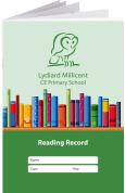 Custom School Reading Record Booklet Example R19