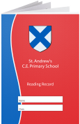 Custom School Reading Record Booklet Example R20