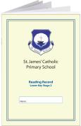 Custom School Reading Record Booklet Example R3