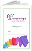 Custom School Reading Record Booklet Example R12