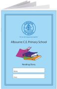 Custom School Reading Record Booklet Example R14