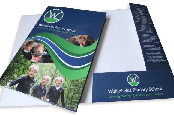 Custom School Presentation Folders