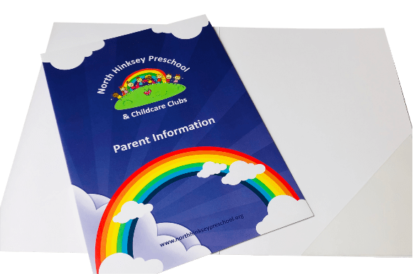 Budget Presentation Folders - Tables Log Booklets - Educational printing for primary schools