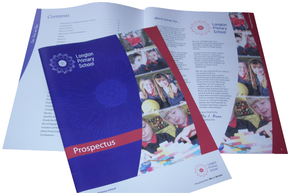 Custom School Prospectus