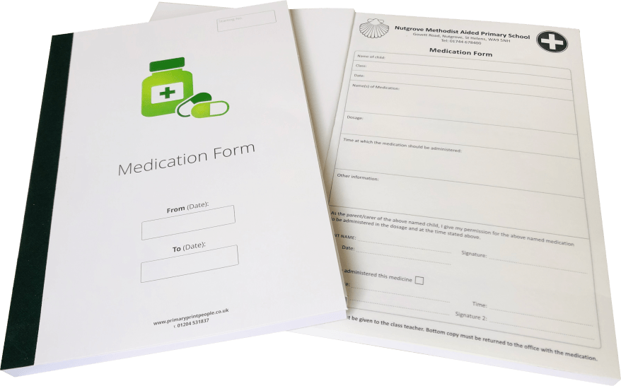 Medication Record Forms Open 1