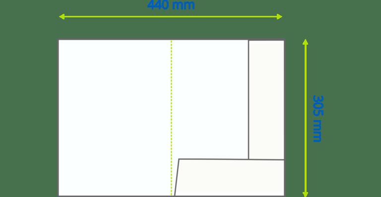 Premier folders standard dimensions completed