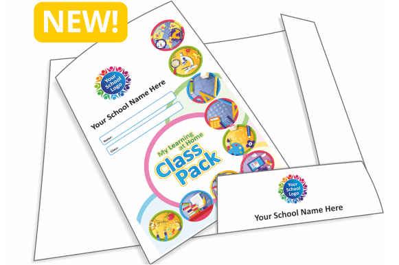 Covid Isolation School Class Pack Folders