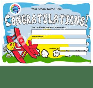 School Certificate - CTC03