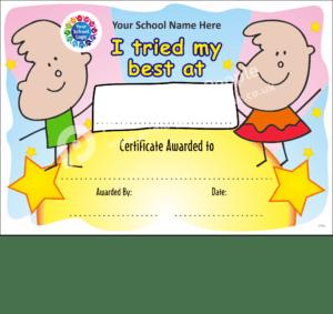 School Certificate - CTC04