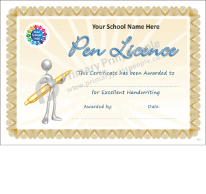 School Certificate - CTC14