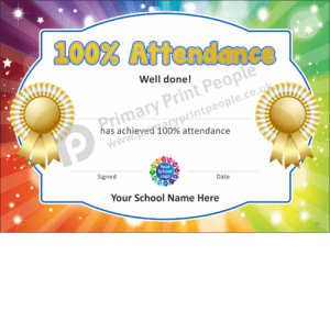 School Certificate - CTC17