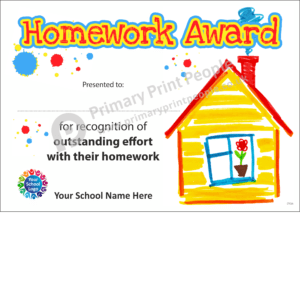 School Certificate - CTC25 - Personalised School Reward Certificates