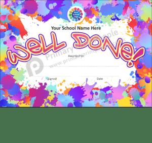 School Certificate - CTC27 - Personalised School Reward Certificates