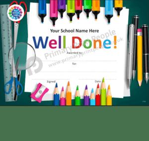 School Certificate - CTC28 - Personalised School Reward Certificates