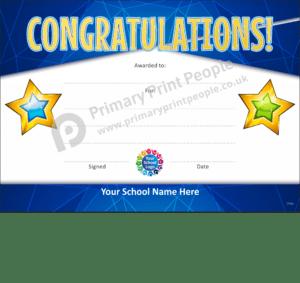 School Certificate - CTC29 - Personalised School Reward Certificates