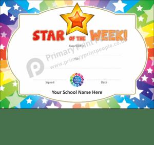 School Certificate - CTC31 - Personalised School Reward Certificates