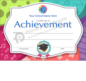 School Certificate - CTC32 - Personalised School Reward Certificates