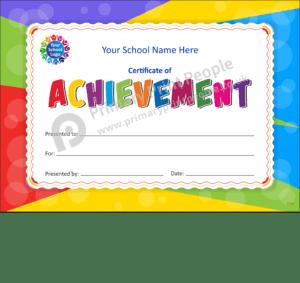 School Certificate - CTC33 - Personalised School Reward Certificates