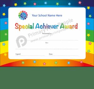 School Certificate - CTC34 - Personalised School Reward Certificates