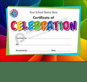 School Certificate - CTC35 - Personalised School Reward Certificates