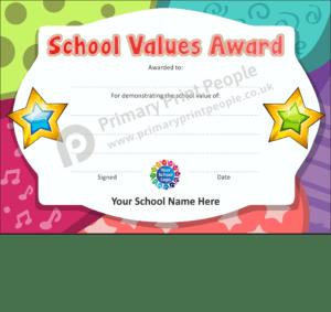 School Certificate - CTC36 - Personalised School Reward Certificates