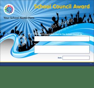 - Personalised School Reward Certificates