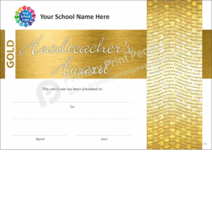 School Certificate - CTM13