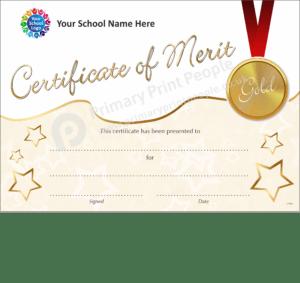 School Certificate - CTM33