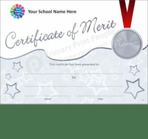 School Certificate - CTM34