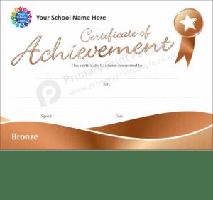 School Certificate - CTM72
