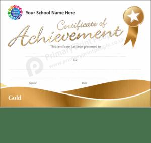 School Certificate - CTM74